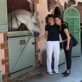 """Internationaler Workshop in Nizza """"Der Hauch von Ewigkeit"""" mit Manuel Jorge de Oliveira und Crystal Samani Juli 2013 – (besucht zusammen mit Brigitte Balmer)"""