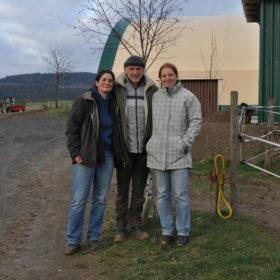 Weiterbildung bei Peter Pfister zu Hause im März 2012 zusammen mit Karin Keller.